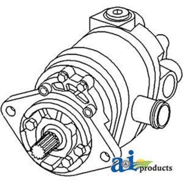 79016058 Hydraulic Pump Fits Allis Chalmers 7000 Replaces 70269936