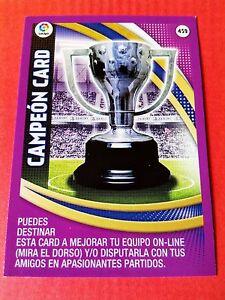 CARD PREMIO PREMIUM C ADRENALYN XL LIGA SANTANDER 2016 2017