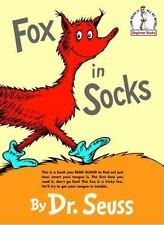 Vintage Fox in Socks, 1965, by Dr. Seuss (Reinforced, Prebound)