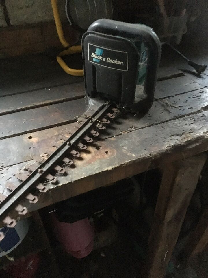 Hækklipper, Black and decker