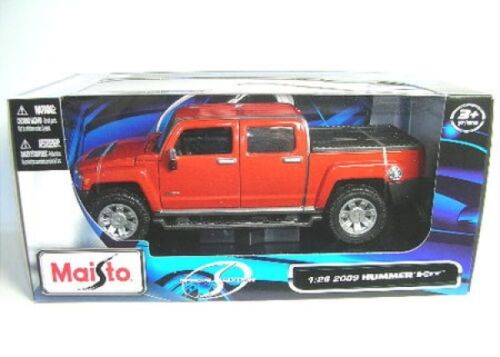 Hummer H3 T (2009) rot