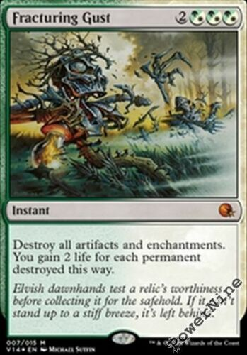 1 PreCon FOIL Fracturing Gust Hybrid FtV From the Vault Annihilation Mtg Magic