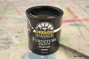 Black Dog Salvage Furniture Paint Black Dog Smooth Matte Black
