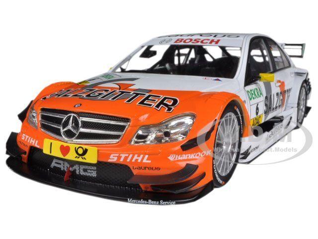 MERCEDES C CLASS DTM 2011  6 SALZGITTER AMG    SCHUMACHER 1 18 NOREV 183580  acheter 100% de qualité authentique