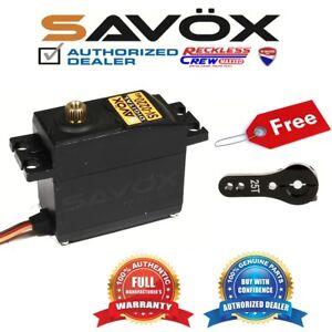 Savox-SV-0220MG-High-Voltage-Metal-Gear-Digital-Servo-Free-ALU-servo-horn-Black