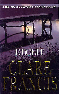 """AS NEW"" Francis, Clare, Deceit Book"