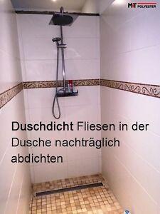 das bild wird geladen fliesen dusche sauna nachtraeglich abdichten versiegeln naturstein mosaik - Dusche Naturstein Reinigen