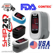 Usa Pulse Oximeter Blood Oxygen Saturation Heart Rate Measuring Spo2 Monitor Fda