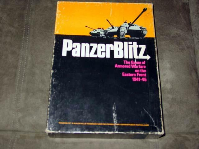 Avalon Hill 1970 - PANZER BLITZ game - Armored Warfare Eastern Front (PUNCHED)