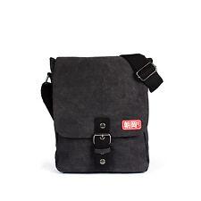 Japanese Canvas Bag Tablet iPad Flight Cross Body Messenger Shoulder Reporter