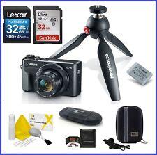 Canon PowerShot G7 X Mark II Digital Camera Video Creator Kit 64GB Bundle
