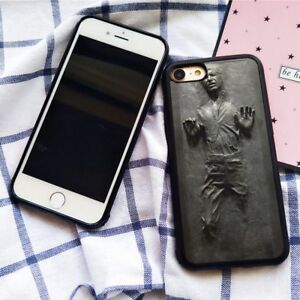 sale retailer 9f38e 691ff Details about Star Wars Han Solo Frozen in Carbonite Silicone Case Cover  for iPhone 7 8 Plus X