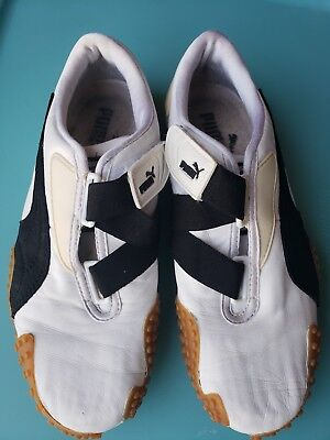 Puma Mens Indoor Soccer Shoes white