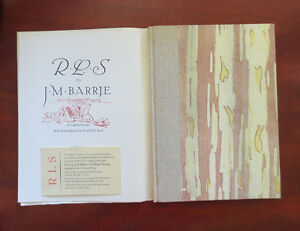 R-L-S-Robert-Louis-Stevenson-to-J-M-Barrie-Book-Club-of-California-Ltd-Ed-Book