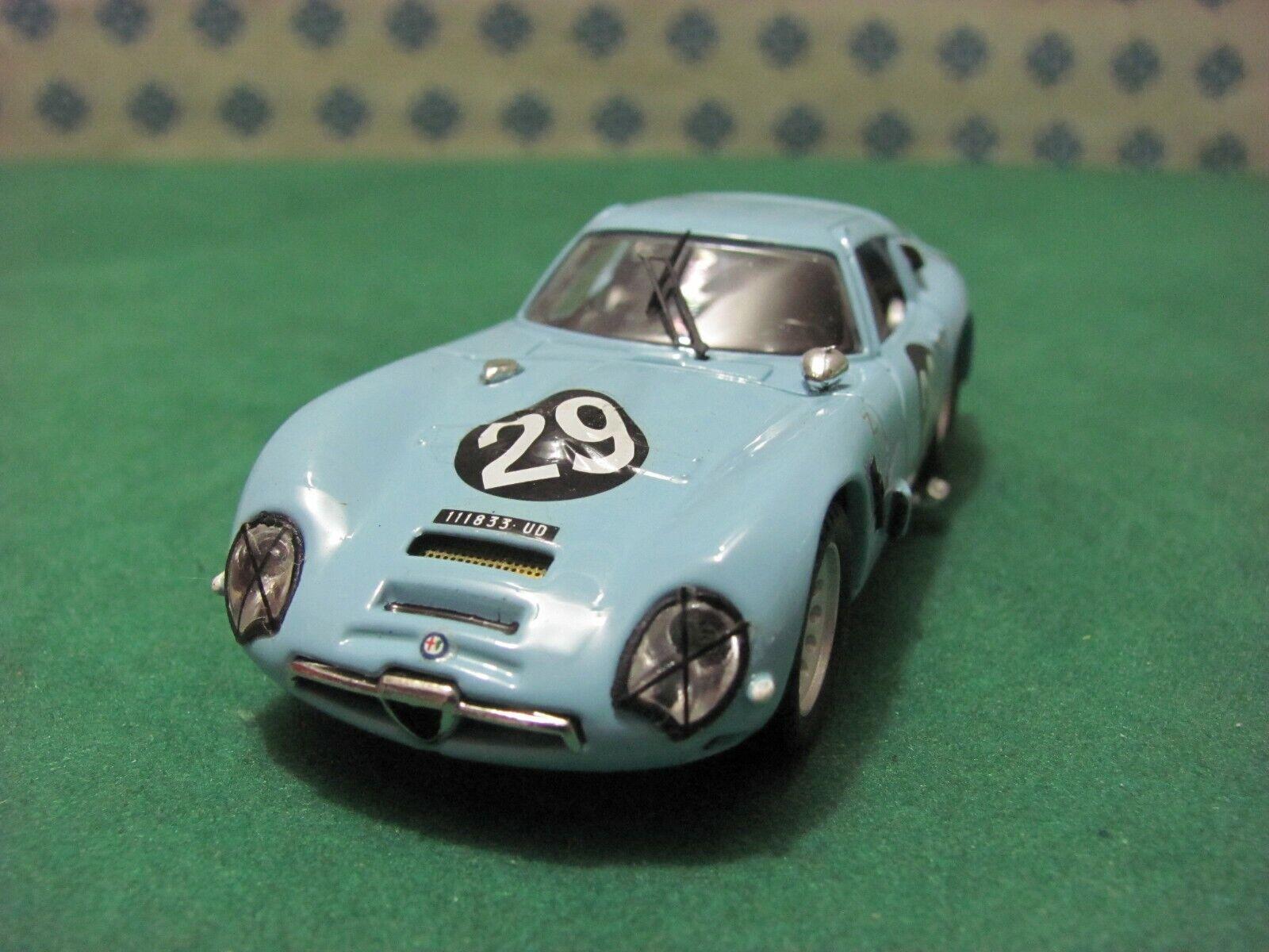 ALFA ROMEO Giulia TZ 2  Zagato coupè 1600  Monza 1967   - 1 43 Best 9141