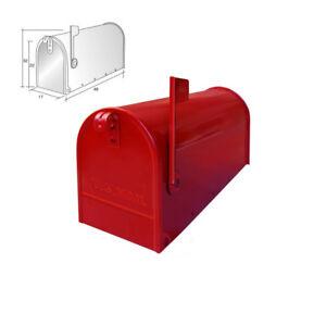 Alubox Pot A Fleurs Courrier Usa Rouge Boite Aux Lettres Global