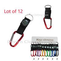 12pcs Keychain Keyring Key Chain Ring Car Backpack Wholesale Lot