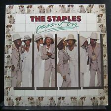 The Staples - Pass It On LP Mint- BS 2945 Warner Bros. Stereo 1976 Vinyl Record