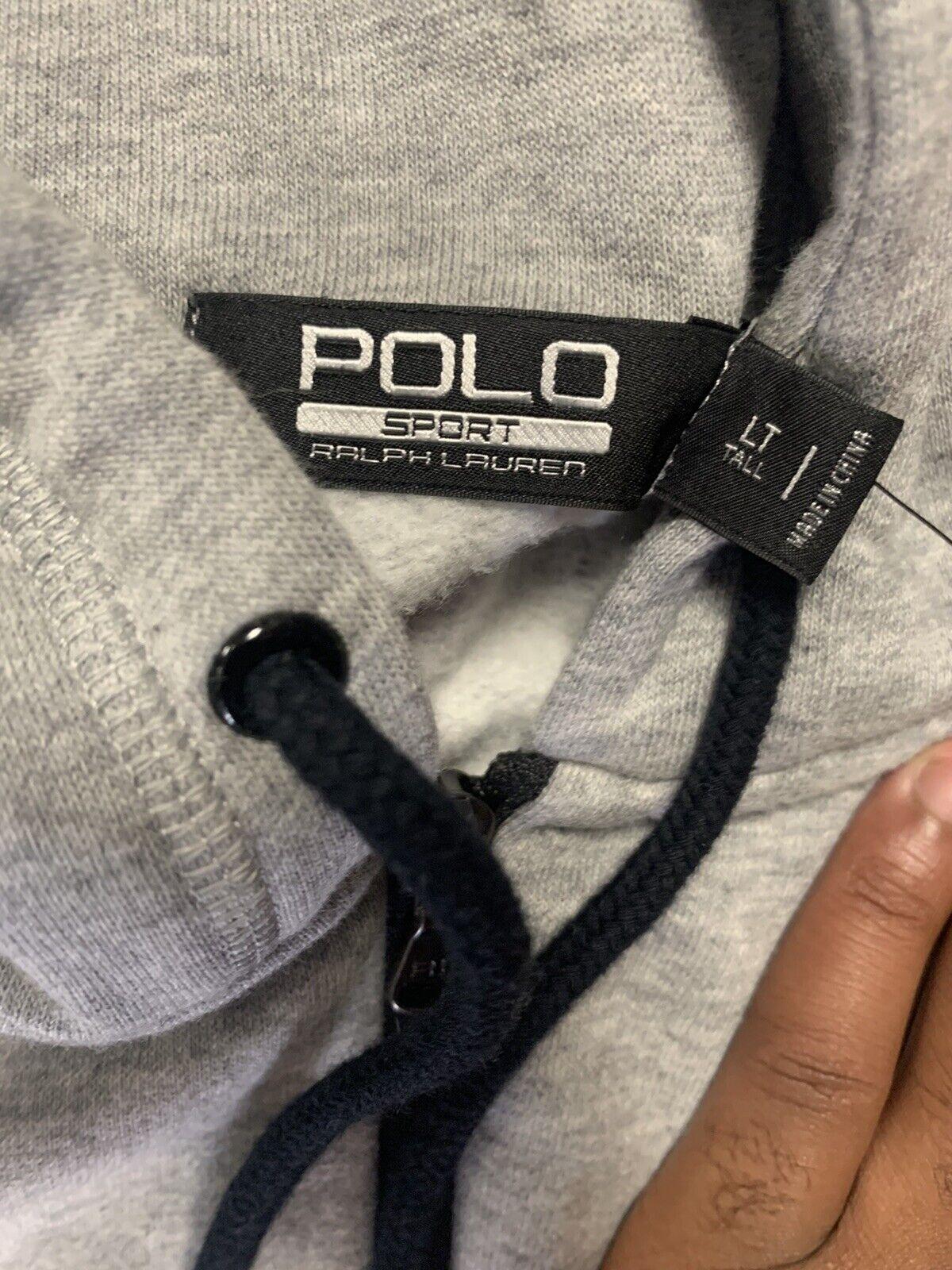 Ralph Lauren Polo Sport Zip Up Hooide LT Grey Vin… - image 3