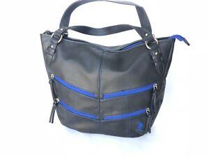 3c792349ea Details about USPA US Polo Assn Navy Royal Blue Crossbody Handbag Purse  Organizer Satchel