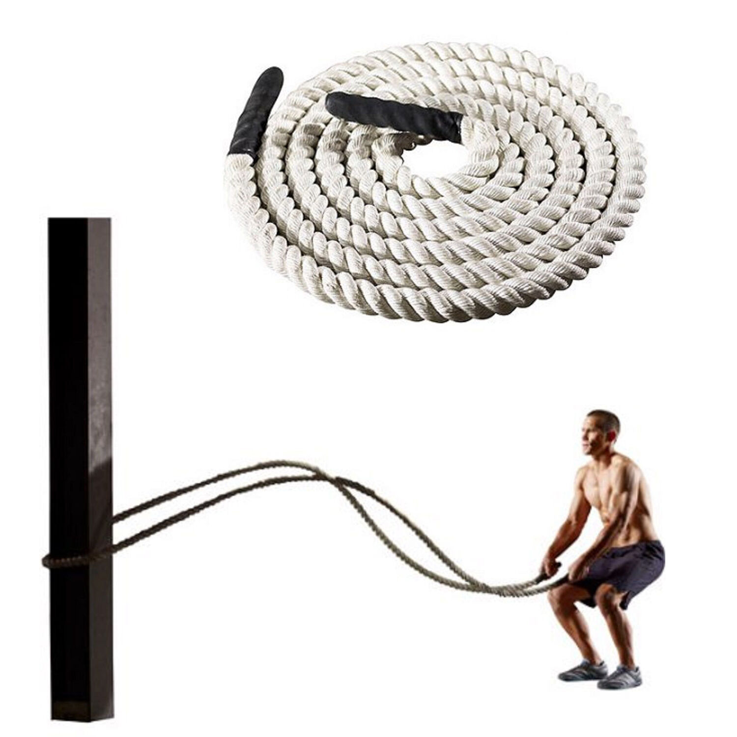 Training  Rope Extreme 20' Fitness Workout Exercise Gym Equipment New  incentive promotionals