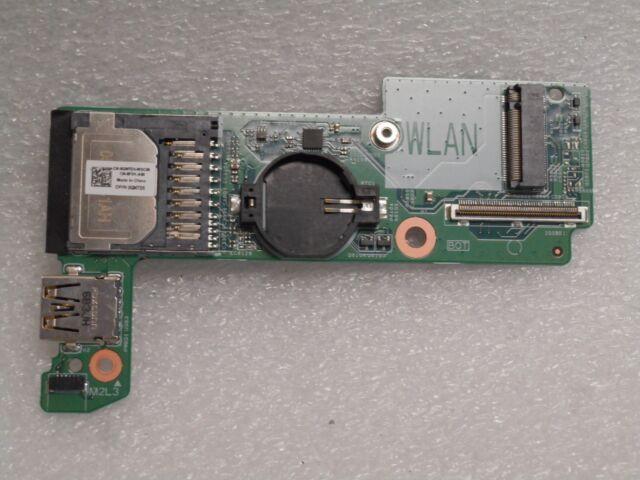 HIAA 01 GENUINE Dell Latitude E7270 Palmrest Touchpad Smart Card Reader P1J5D