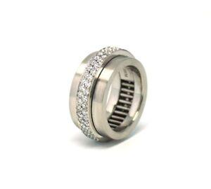 Drehring-Ring-ring-950-Memoryring-mit-Brillanten-ca-0-90ct-TW-Weite-50-Memoire