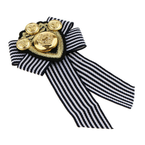 3pcs femmes hommes Noeud Broche Pin Ruban Col Chemise Robe Bijoux Cravate