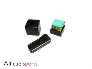 ACS-Magnetic-Snooker-amp-Pool-Chalk-Holder-with-Triangle-Chalk