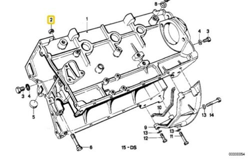 Bmw 1 Series E87 E30 E36 E46 E90 E91 E92 Dowel D=14,5MM 11111743118