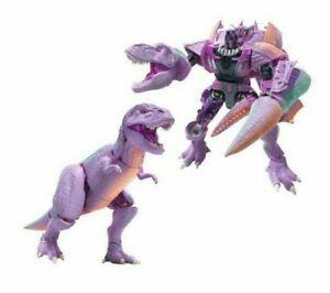Transformers Generations War for Cybertron Kingdom Leader Megatron Beast In Hand