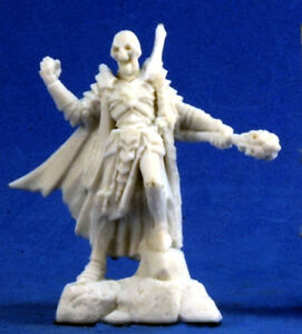 1 x CHAMPION SQUELETTE - BONES REAPER figurine miniature jdr rpg skeleton 77285