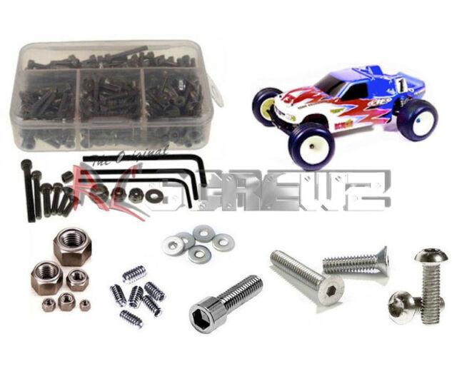 RC ScrewZ ass004 Associated T3 RTR/Factory Stainless Steel Screw Kit