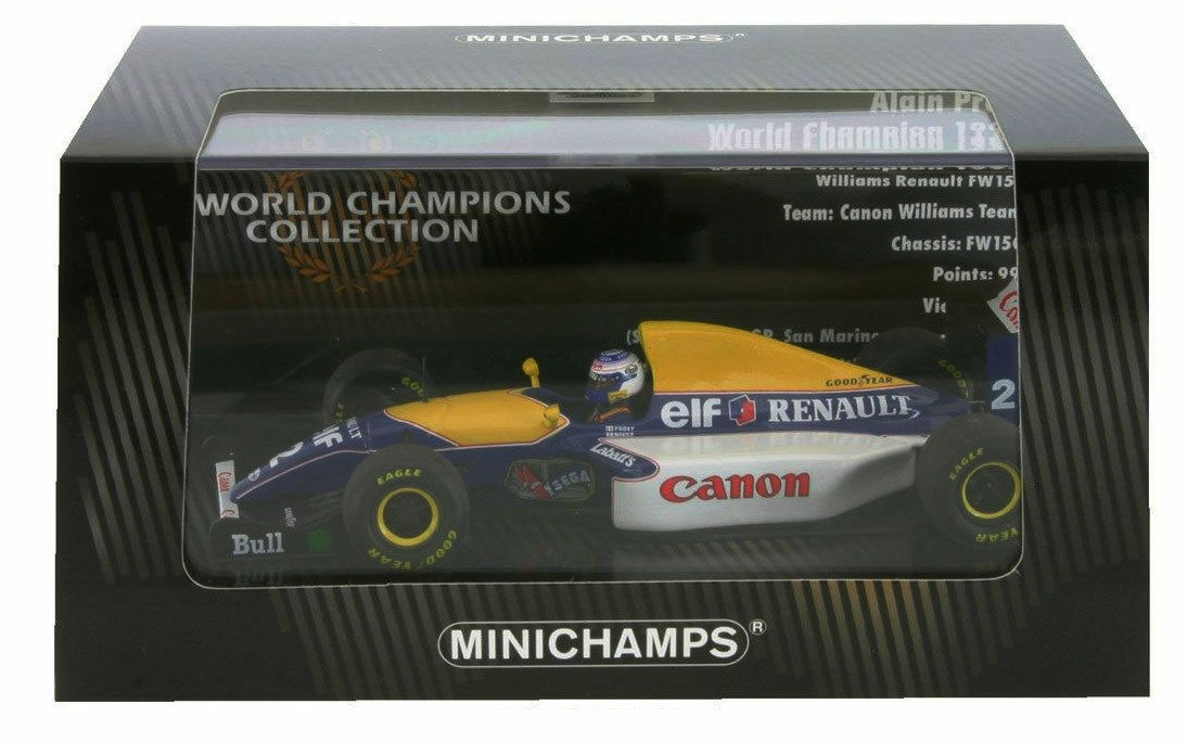 WILLIAMS RENAULT FW15C 1993 Prost World Champion 1 43 MINICHAMPS 436930002