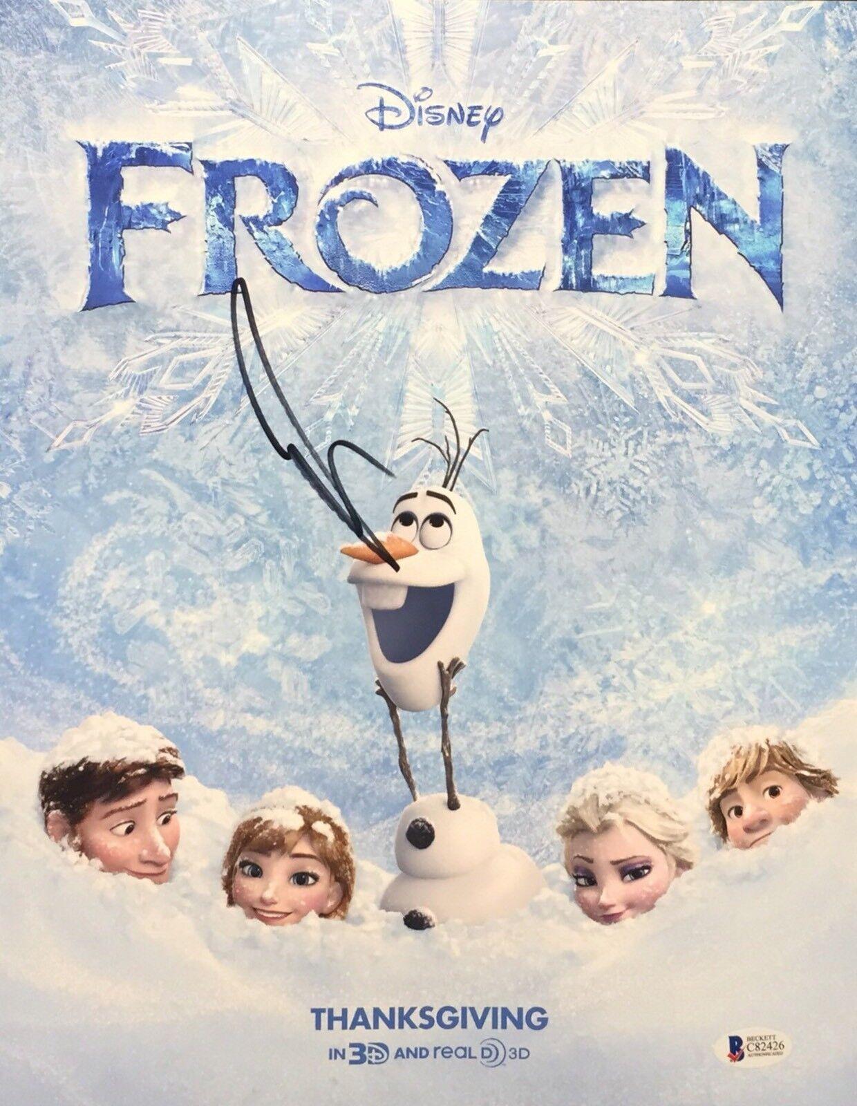 Josh Gad Signed Disney's 'Frozen' 11x14 Photo *Olaf BAS Beckett C82426