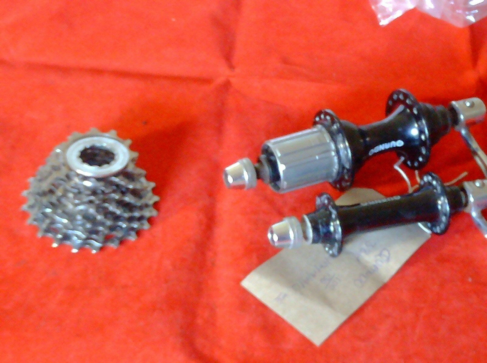 QUANDO 9  SPEED HUBS + 12-21 CASSETTE, 32 HOLE