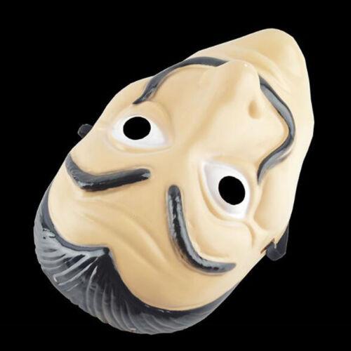 Halloween Money Heist Props Cosplay La Casa De Papel Mask Salvador Dali Costume