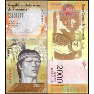 Venezuela 2000 Bolivares 2016 Unc P 96 A Jfk1gbey-07221030-466732639