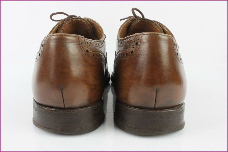 Richelieu VANEAU Bottier Paris Tout Cuir Marron  T 41,5 8 / 41,5 T BE d0f618