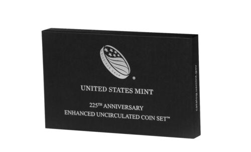 2017-S US Mint 225th Anniversary Enhanced Uncirculated 10-Coin Set