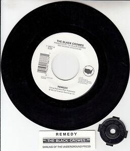 BLACK-CROWES-THE-Remedy-7-45-rpm-vinyl-record-juke-box-title-strip-RARE