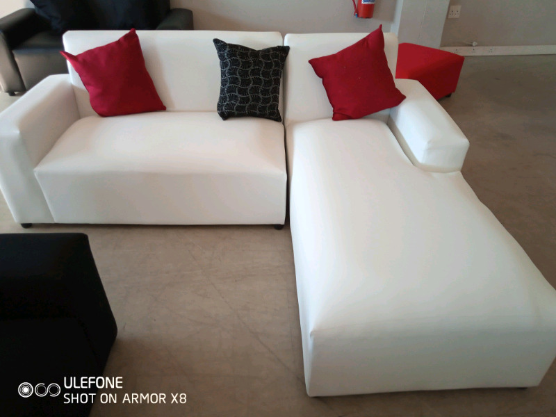 L shape couches for sale right at manufacturing factory shop for R2499