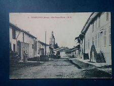 L194. CPA. Meuse. Triaucourt. Rue Haute d'Evres