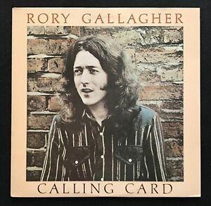 Rory Gallagher Calling Card Uk Chrysalis Lp Superb Nm Ebay
