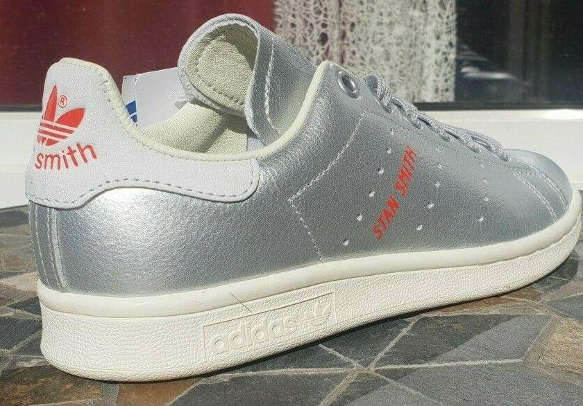 ADIDAS Stan Smith W damen Silber Silber Turnschuhe B41750 5 NEU 36 Originals Schuhe
