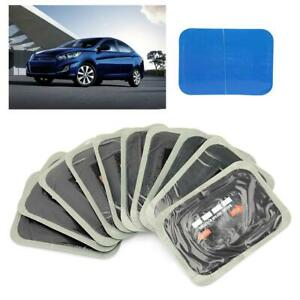 10* 90mm Car Natural Rubber Tire Tyre Puncture Repair Cold Roud Tubeless Patches