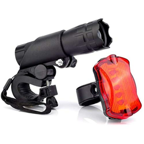 Bike Headlight And Taillight Set Super Bright Safe LED Lights For Bicycle Easy