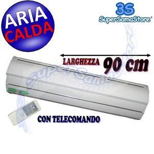 Riscaldamento Con Aria Calda.3s Barriera Lama Ad Aria Calda Riscaldata Cm 90 Con Resistenza