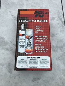 K&n Air Filter Cleaner Oil Recharger Service Kit 99-5000eu K and N Power Kleen