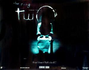 Die Ring Zwei (Zweiseitig) Original Filmposter